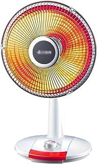 Calentador - pequeño Calentador Solar Calentador de pies para Estufa de bajo Consumo Gran ángulo de Giro de la Cabeza Dos Ajustables
