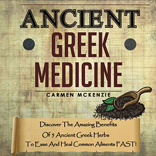 Ancient Greek Medicine audiobook cover art