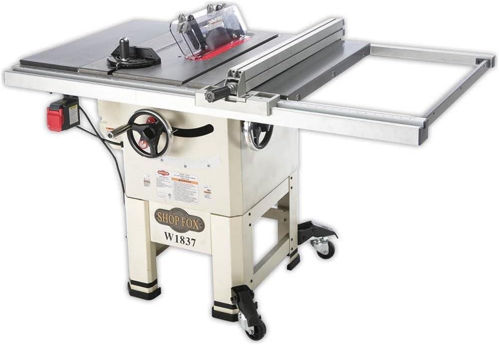 Shop Fox W1837 Hybrid Table Saw Under $1000