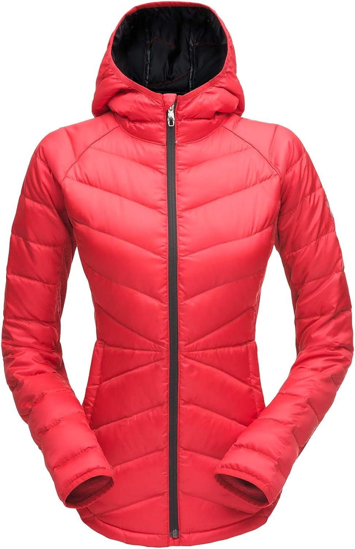 HIBISCUS HIBISCUS Women's Solitude Hoody Down Jacket