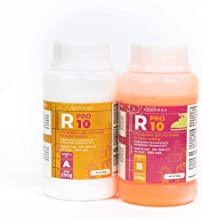 R PRO 10 Silicone vloeibaar -Vloeibare siliconen, Vloeibare siliconen, Afvormmassa, and siliconen rubber (zacht) 1:1 (1 Kg)
