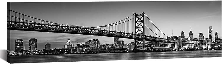 JiazuGo Philadelphia Skyline City Canvas Wall Art Decor 14