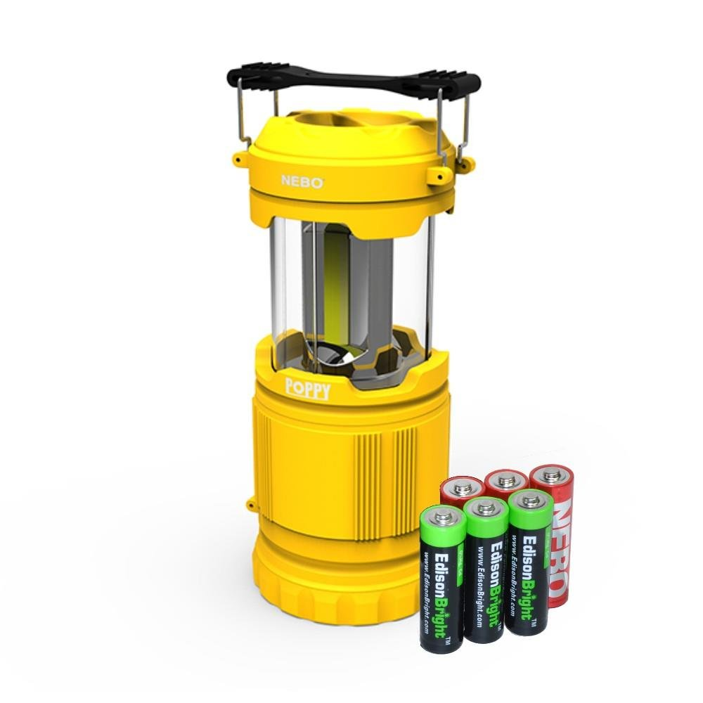 Combination Lantern EdisonBright batteries Yellow