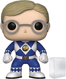Power Rangers Funko Pop! Mighty Morphin Billy Blue Ranger Funko Pop! (No Helmet) Vinyl Figure (Includes Pop Box Protector Case)