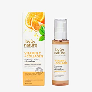 By Nature Brightening Face Serum With Vitamin C and Turmeric