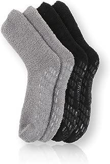 Non Skid/Slip Socks – Hospital Socks - Fuzzy Slipper Gripper Socks