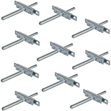 Gedotec H8250 H8250 Plankdrager met schroefplaat en steekbouten, voor zware belasting, plankdrager, van metaal, draagkrach...