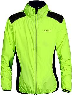 WOSAWE Cycling Jacket Jersey Sportswear Long Sleeve Wind Coat