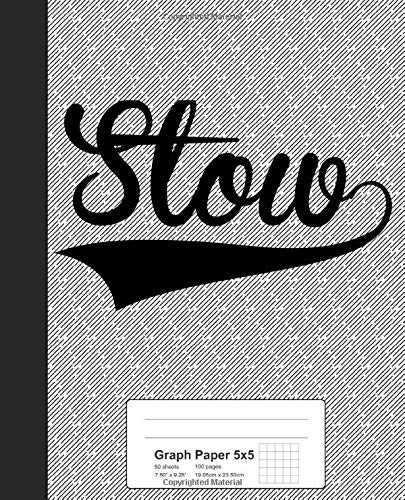 Graph Paper 5x5: STOW Notebook (Weezag Graph Paper 5x5 Notebook, Band 3954)