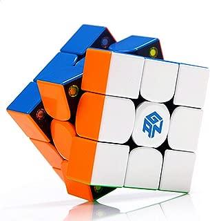 LiangCuber GAN 356 X Speed Cube 3x3 Gans 356X Magnetic Puzzle Cube Gan356 X 3x3x3 M Stickerless(IPG v5, GES v3 Version)