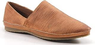 Diba True Beach Comb Leather Shoe, Cognac, Size 6.0