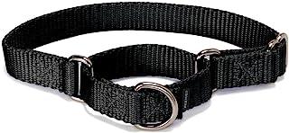プレミアカラー ハーフチョーク Sサイズ 幅1.9cm 小型犬~中型犬用 ブラック [並行輸入品]