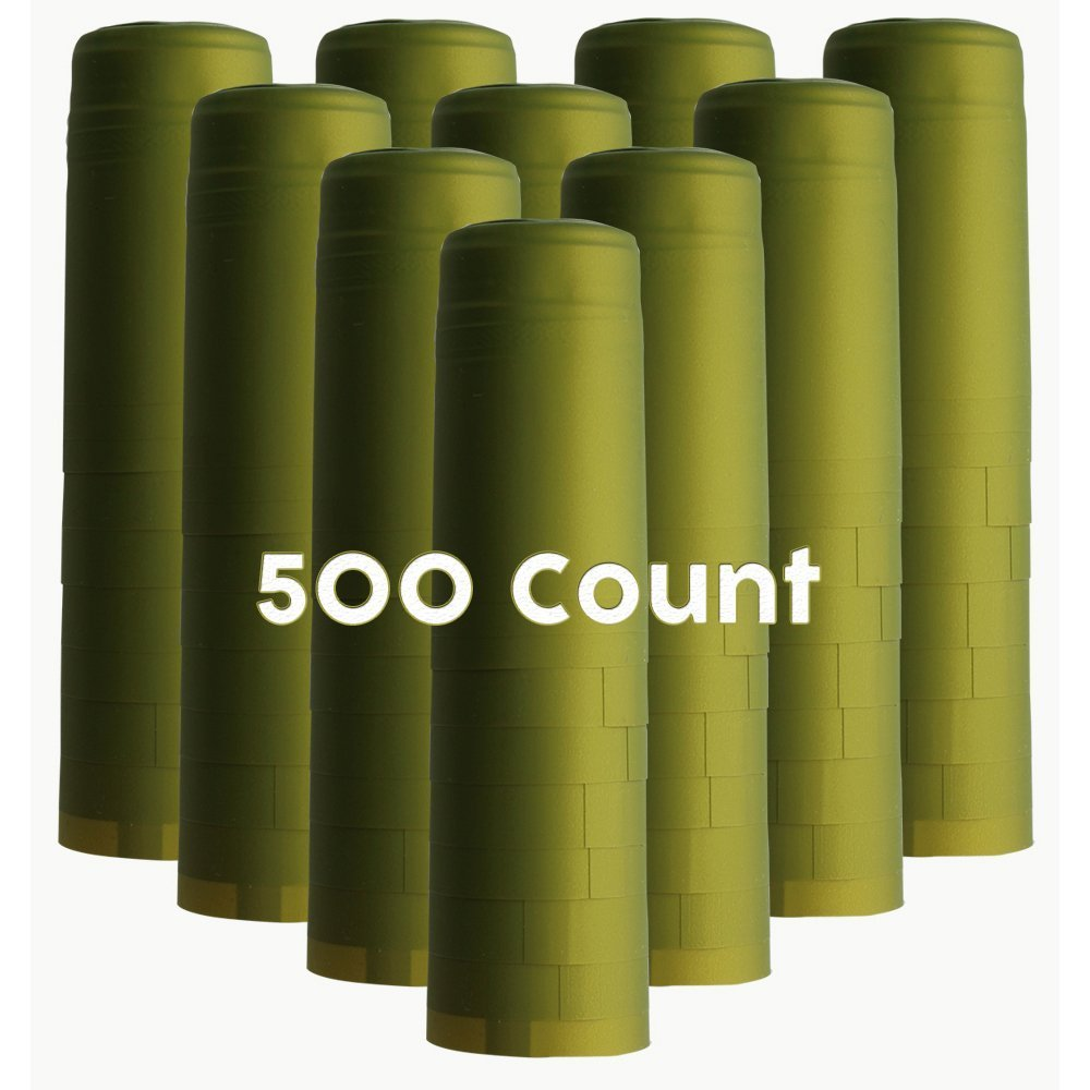 Metallic Lime Chicago Mall Green PVC Count Shrink Capsules-500 100% quality warranty!