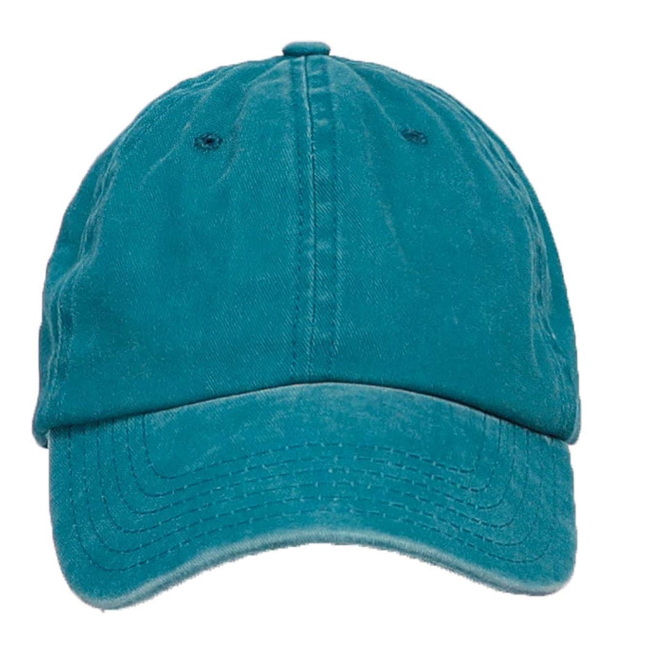 ed686837837a2f Azure Hat 12-Pack Wholesale Unisex Pigment Dye Washed Cotton Men Women  Adjustable Baseball Cap