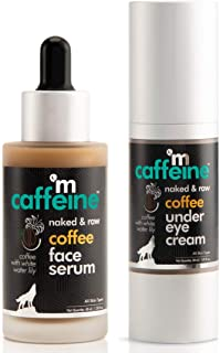 mCaffeine Coffee Morning Puffiness Fix | Hydrate, De-Puff | Under Eye Cream, Face Serum | All Skin | Paraben & Mineral Oil...