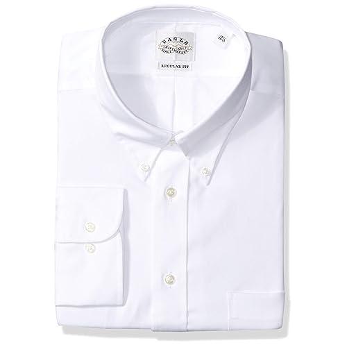 57d39536b565 Eagle Men s Dress Shirt Non Iron Regular Fit Solid