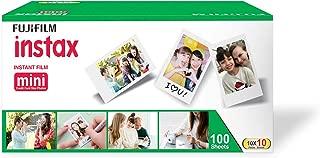 Fujifilm Instax Mini Picture Format Film - Value Pack 100 Shots Films (White)