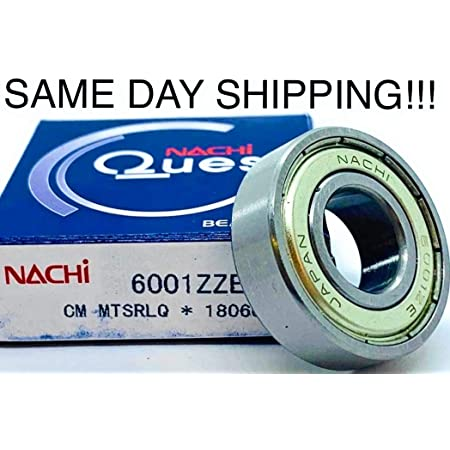 Bearing 6001 ZZ 6001zz 6001Z 6001z dimension 12x28x8 FŁT POLAND free shipping