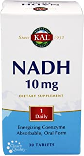 Kal 10 Mg Nadh Tablets, 30 Count