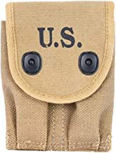 World War Replica US WW1 COLT 45 AUTO Double Magazine Pouch Reproduction