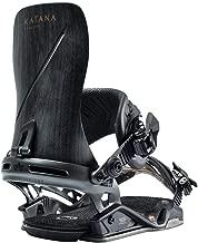 Rome Snowboards Katana Snowboard Bindings, Black, Large/X-Large