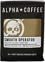Alpha Coffee - Smooth Operator - 16 oz. Premium Gourmet Craft Medium Roast Drip Grind Coffee | Veteran Owned - Specialty S...