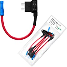 [UL Wire] Chanzon 5pcs 12awg ATC/ATO Add-a-circuit Fuse Holder Fuse Tap Adapter for 35A Automotive Car Motorcycle