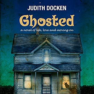 Ghosted audiobook cover art