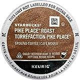 Starbucks Pike Place Coffee, Medium, Keurig K-Cups, 60 ct