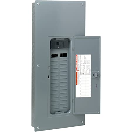 Value Pack Square D Main Breaker Box Kits 200 Amp 30-Space 60-Circuit Indoor
