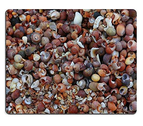 luxlady Gaming Mousepad eine Shell verdeckt Beach auf der Insel Muck in Schottland Bild-ID 1480058