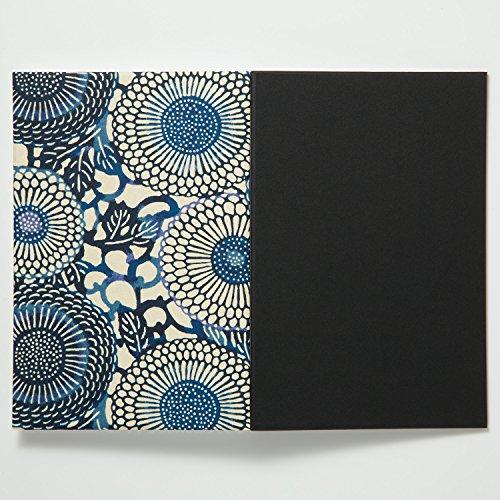 尚雅堂御朱印帳goen友禅ブラックBK-4