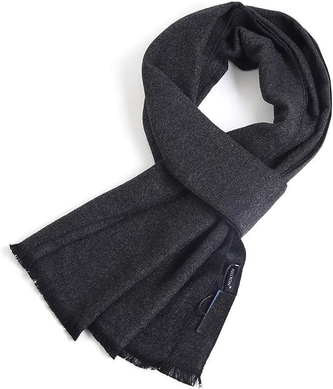 FULLRON Men Winter Cashmere Scarf Soft Warm Long Scarves