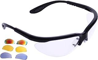 Python RG 多头球(闪光)眼部保护带免费护套(护目镜、护目镜、护目镜) - 黑白或白