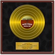 gold plaque record