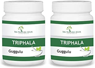 SRI NATURE AYUR Triphala Guggulu - 60 Count (Pack of 2)