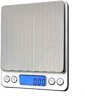 Básculas Digitales Báscula de Cocina Digital Báscula electrónica de Alimentos multifunción Retroiluminación multifunción LCD Escala de Equilibrio de Alta precisión 33 LB Durable Básculas Digitales