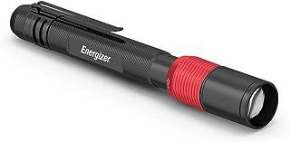 Linterna bolígrafo recargable Energizer, 400 lúmenes, clasificación IPX4 de resistencia al agua, linterna compacta de meta...