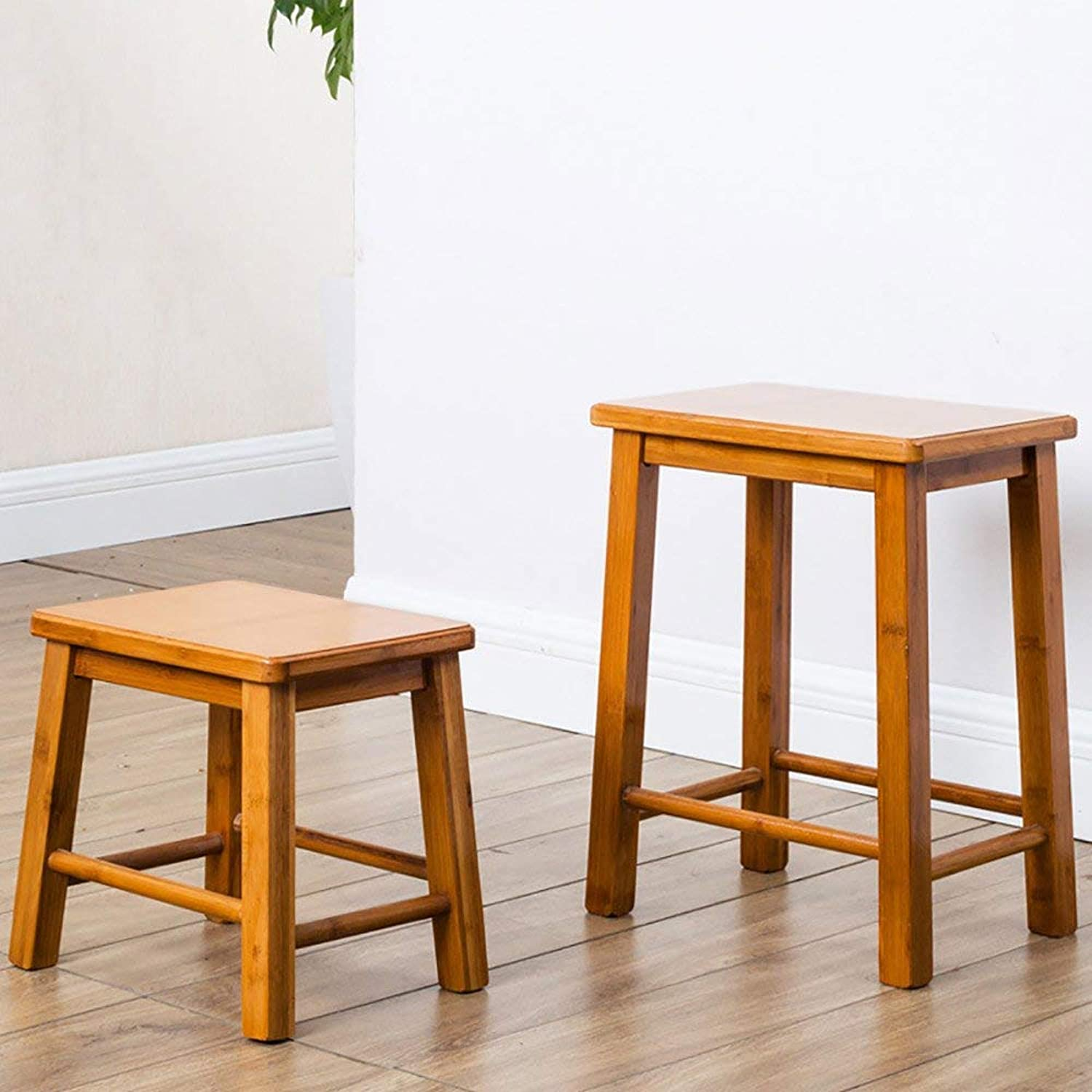JZX Small Bamboo Bench, Adult Pedal Stool