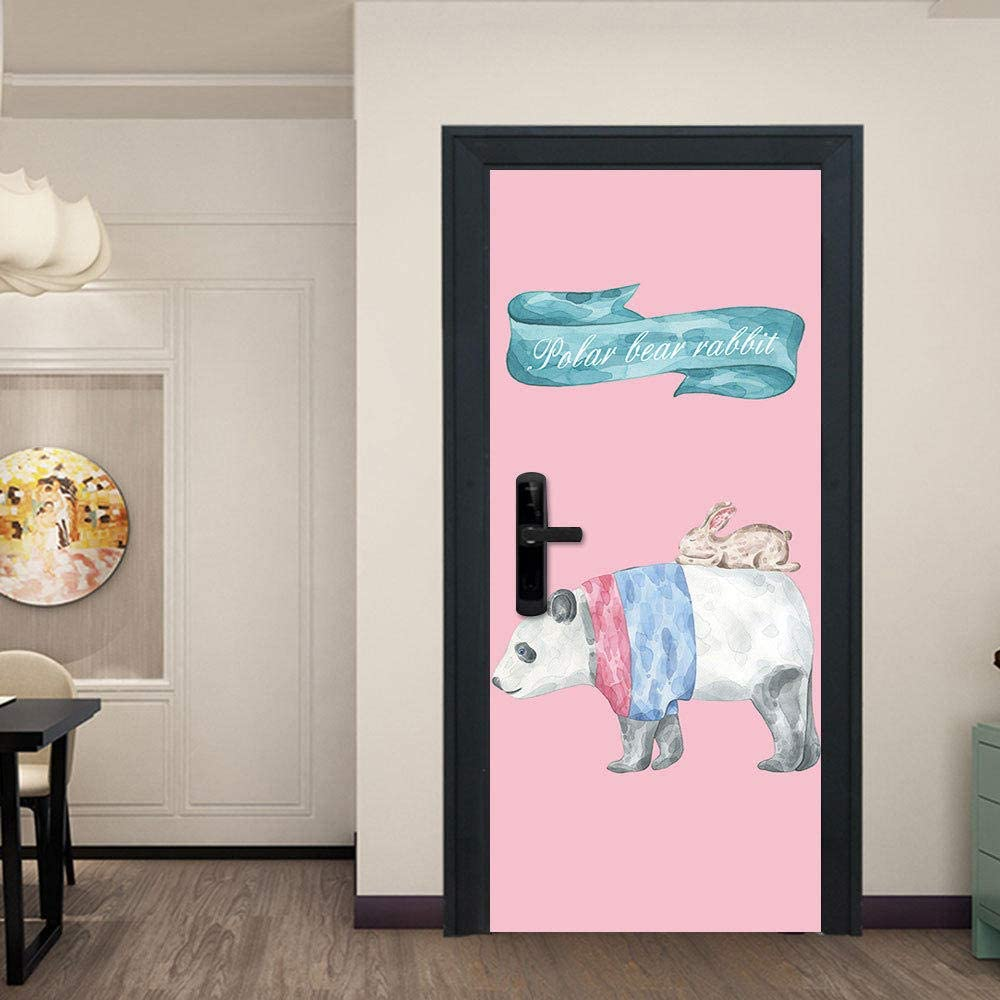Door Sticker New product Wallpaper Self-Adhesive quality assurance Nordic Healing Do Ustration