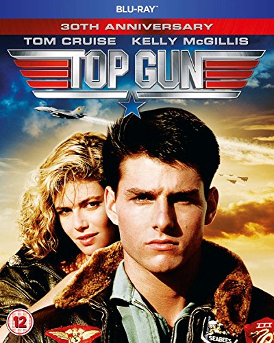 Top Gun - 30th Anniversary [Blu-ray] [1986] UK-Import, Sprache-Englisch.