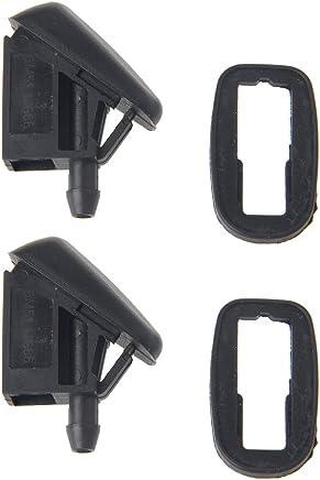 2 boquillas para limpiaparabrisas con forma de abanico para Ford Focus 2 Mk2 Mk3