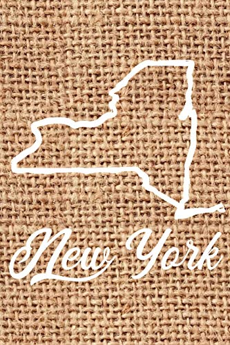 New York: Blank Lined Journal for anyone that loves New York, the outdoors and nature!