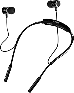 KSCAT NICE15 Bluetooth Headphones, Best Wireless Earbuds Waterproof Sports Earphones with Mic Sweatproof Earbuds, Noise Cancelling Headset for Gym, Running, Outdoor