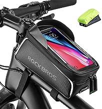 ROCKBROS Fietsframetas, waterdicht, stuurtas, bovenbuistas, touchscreen, voor iPhone XR XS MAX X 8 7 6 Plus/Samsung Galaxy...