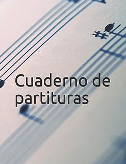 Cuaderno de partituras de 50 páginas