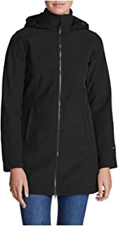 Eddie Bauer Women's Windfoil Elite 2.0 Hooded Trench Coat