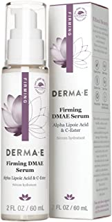 Sponsored Ad - DERMA E Firming DMAE Serum with Alpha Lipoic and C-Ester, 2 oz – Tones, nourishes & moisturizes –Helps supp...