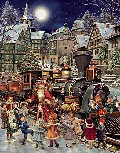 Vermont Christmas Santa \'s Schiene Stop Adventskalender (Countdown zu Weihnachten)