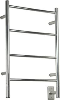 Jeeves Wall Mont Electric I Straight Towel Warmer Finish: Polished